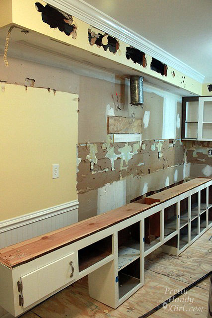kitchen cabinet removal how to remove a soffit kitchen renovation update 19459