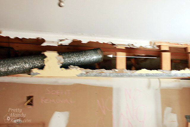 What Is A Kitchen Soffit And Can I Remove It: Kitchen Renovation Update