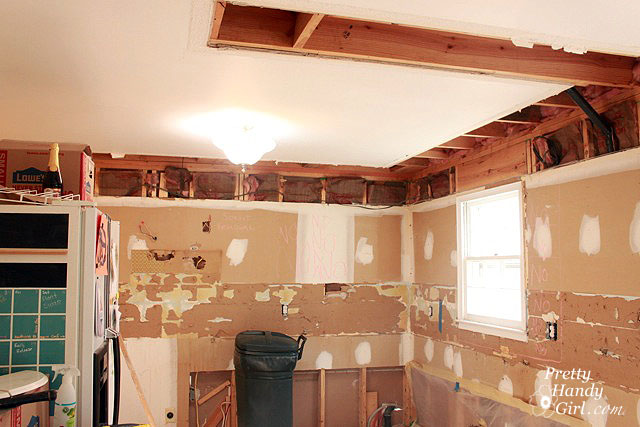 Superior How To Remove A Soffit   Kitchen Renovation Update