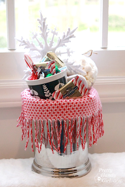 Gifts from your kitchen - Warm and Cozy Chocolate Gift Basket