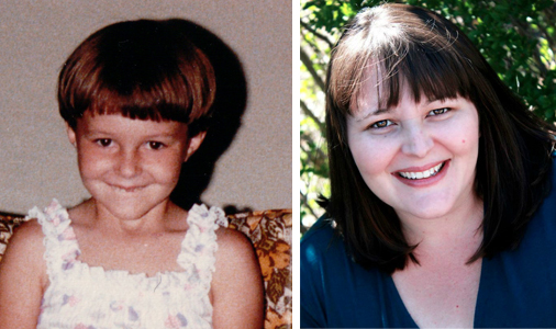 Winner of Before They Were Bloggers, Mom Endeavors, then and now