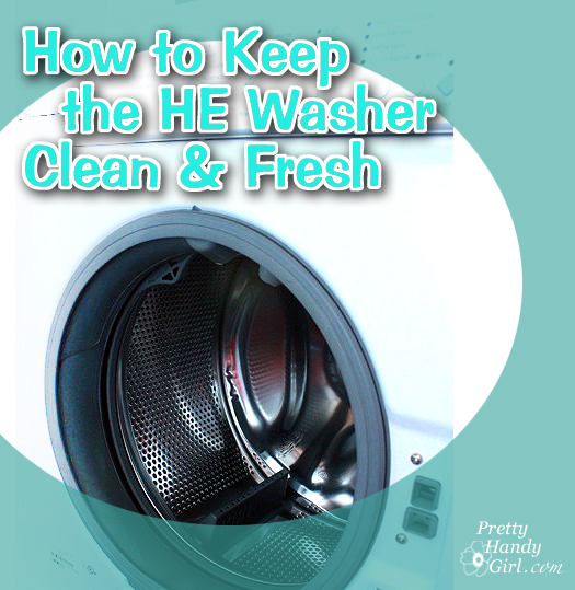 How To Keep Your He Front Load Washer Clean And Smelling