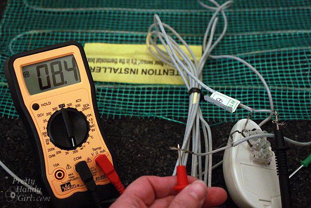 How To Install Radiant Floor Heat Mats