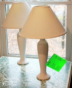 10 Minute Song Lyrics Lamp Makeover
