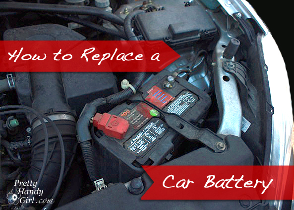 How To Replace A Car Battery Pretty Handsome Guy Style