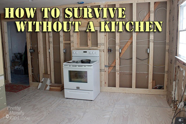 How To Survive Without A Kitchen During Renovation