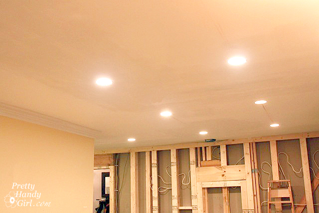 how to install recessed lights pretty handy girl