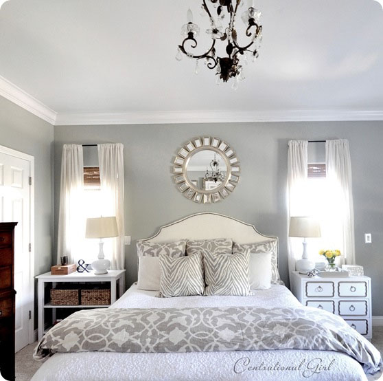 Gray grey or greige finding the perfect gray pretty for Pretty bedroom colors