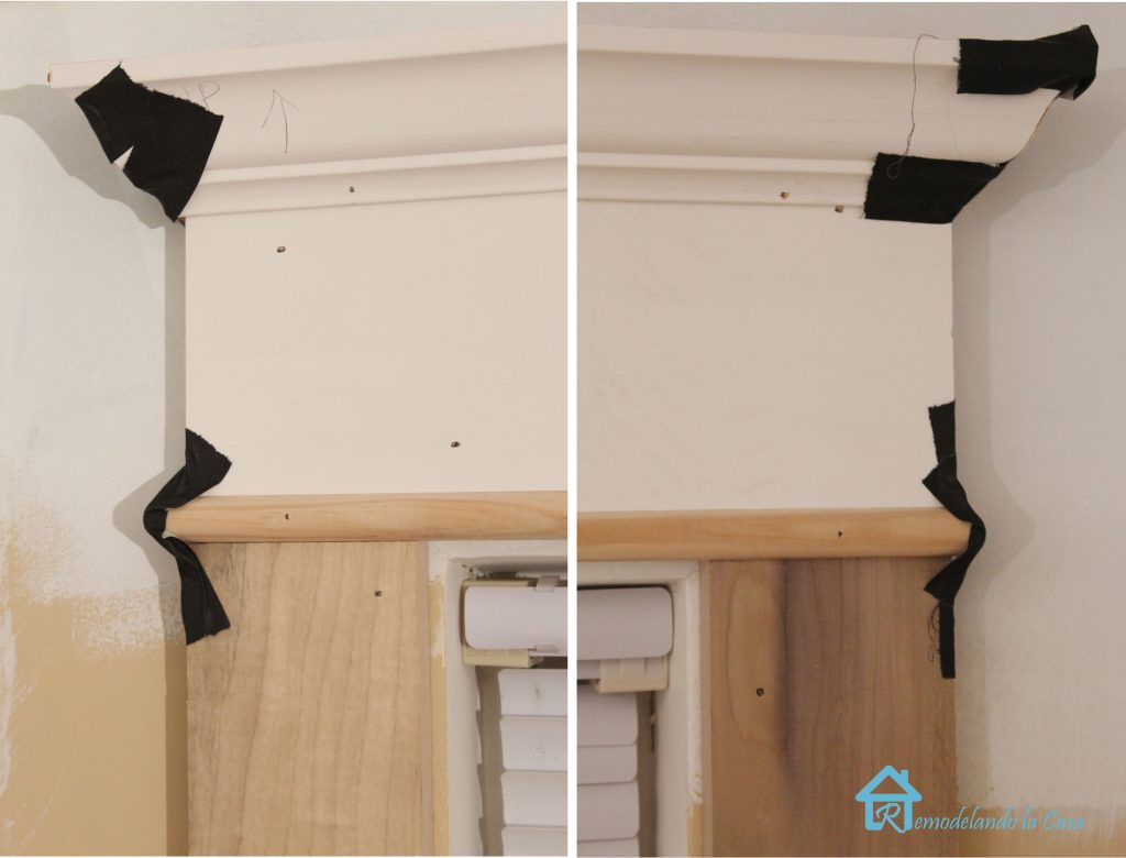 attaching returns of crown to window lg
