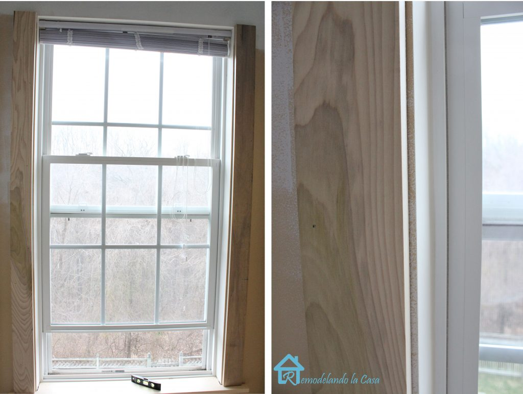 attaching sides of window lg