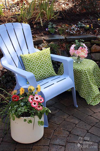 DIY Recover Outdoor Pillows