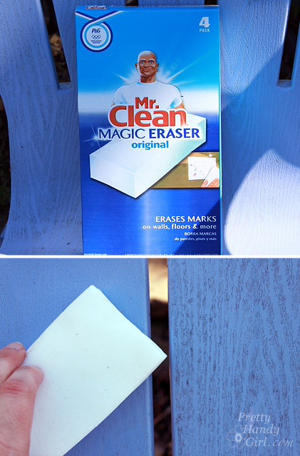 cleaning_patio_furniture_Mr_clean_magic_eraser