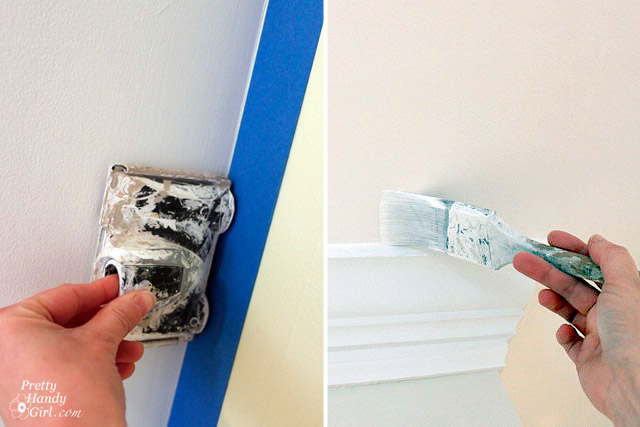 Painting Ceilings Like a Pro - Pretty Handy Girl