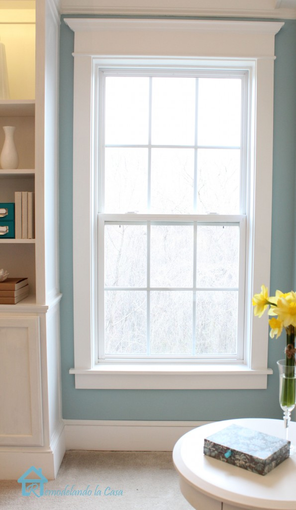 How to install window trim pretty handy girl for Window design molding