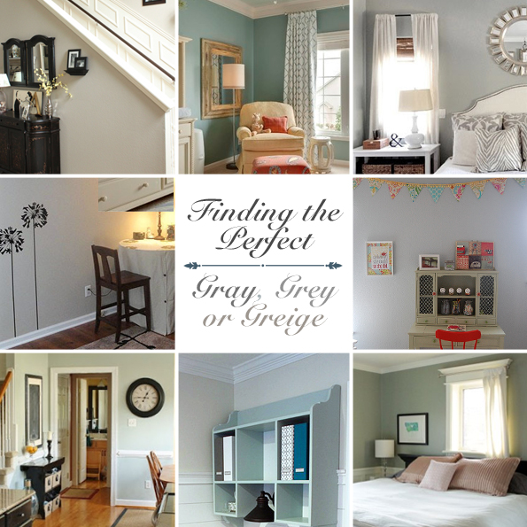 Gray, Grey or Greige {Finding the Perfect Gray} - Pretty Handy Girl