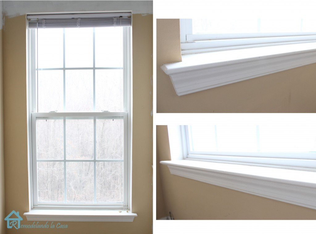 How to install window trim pretty handy girl for Window design small