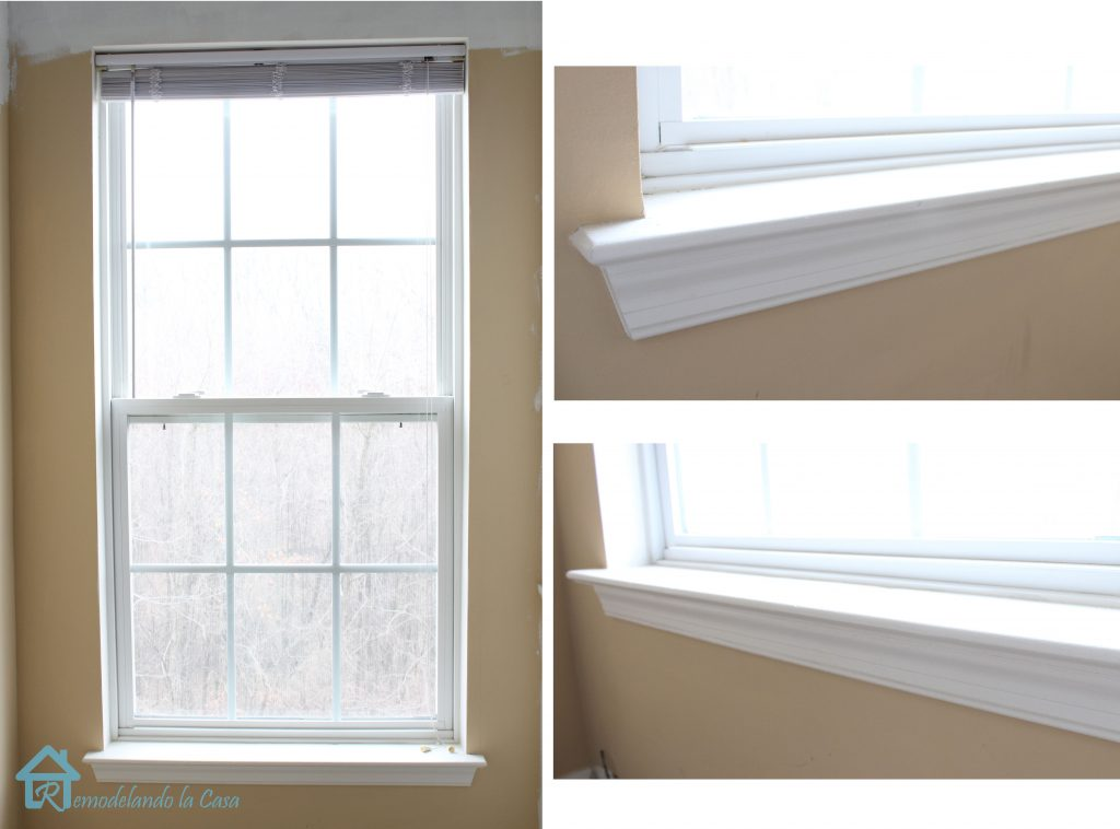 How to install window trim pretty handy girl for Interior windows