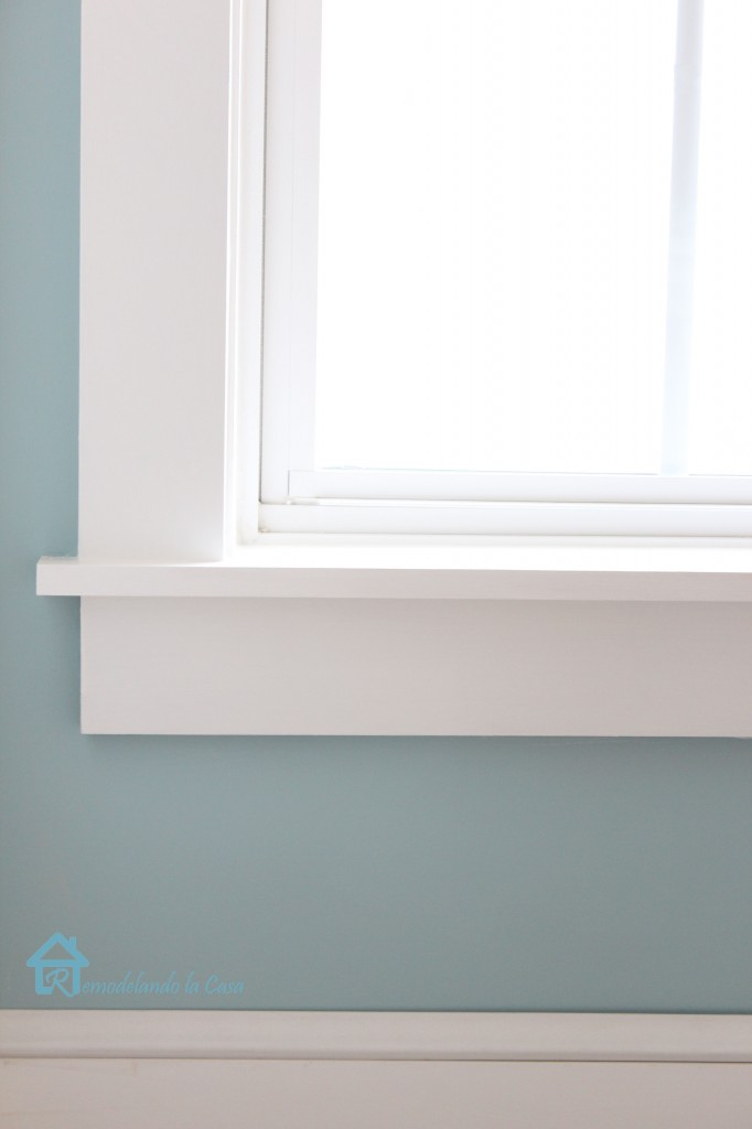 How to install window trim pretty handy girl for Modern door casing profiles