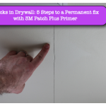 Cracks in Drywall-5 Steps to a Permanent Fix with 3M Patch Plus Primer
