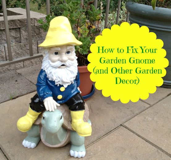Garden Gnome How To Fix