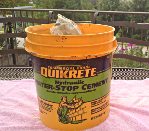 Garden Gnome-Hydraulic Cement