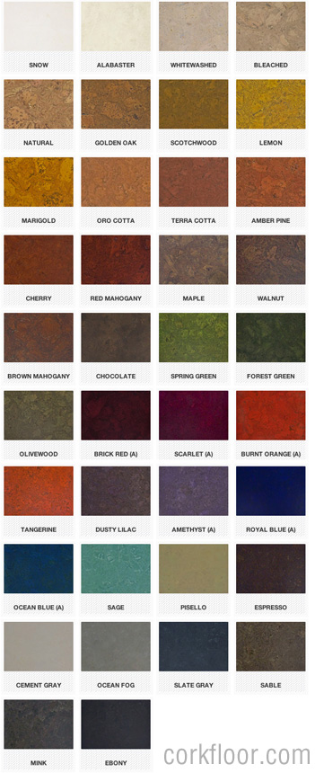 Globus_cork_tile_colors