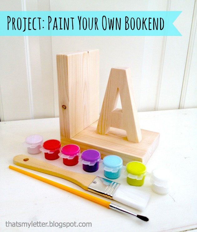 Kids Bookend Kit Build Your Own