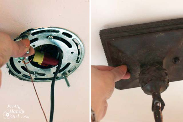 How to Install a HardWired Pendant Light Pretty Handy Girl