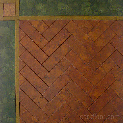 Kitchen Tiles Cork kitchen floors {how i decided to use cork tiles} - pretty handy girl