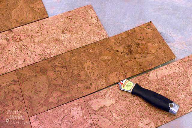 How To Remove Adhesive Cork Tile
