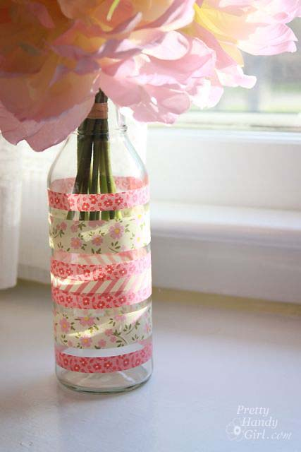 recycled_glass_washi_tape_vase