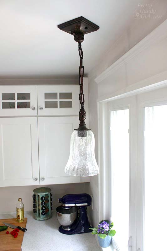 How to install a hard wired pendant light pretty handy girl uttermostpendantchopping mozeypictures Choice Image