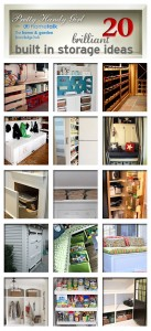 20 Brilliant Built In Storage Ideas