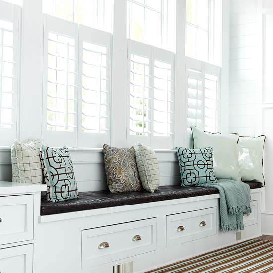 Dreamy Window Seat Inspiration Photos