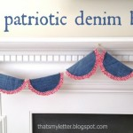 Patriotic Denim Bunting Tutorial
