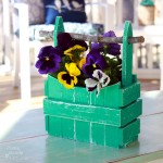 Picket Fence Planter Basket {Lowe's Creator Idea}