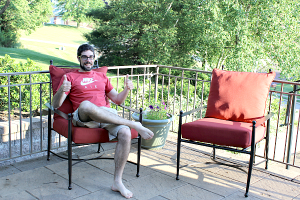 Enjoy Your Newly Painted Patio Chairs