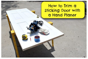 How to Trim a Door with a Hand Planer
