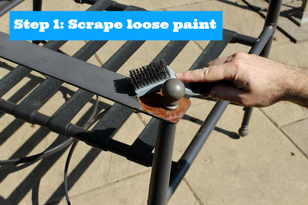 Painting Metal Patio Chairs 5 Easy Steps To An Awesome