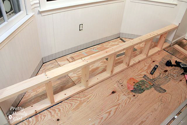 Building A Window Bench Seat With Storage