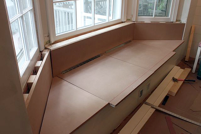 how to make window bench