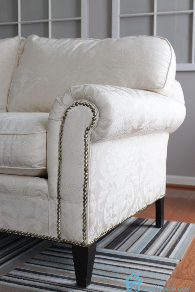 Easy Sofa Makeover And Living Room Mini Makeover Pretty Handy Girl
