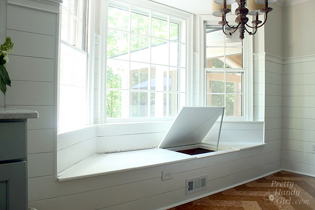 Basics For Building A Built In Window Seat In A Bay Window: