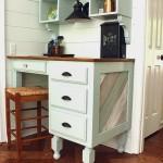 Building a Kitchen Counter Height Desk {Lowe's Creator Idea}