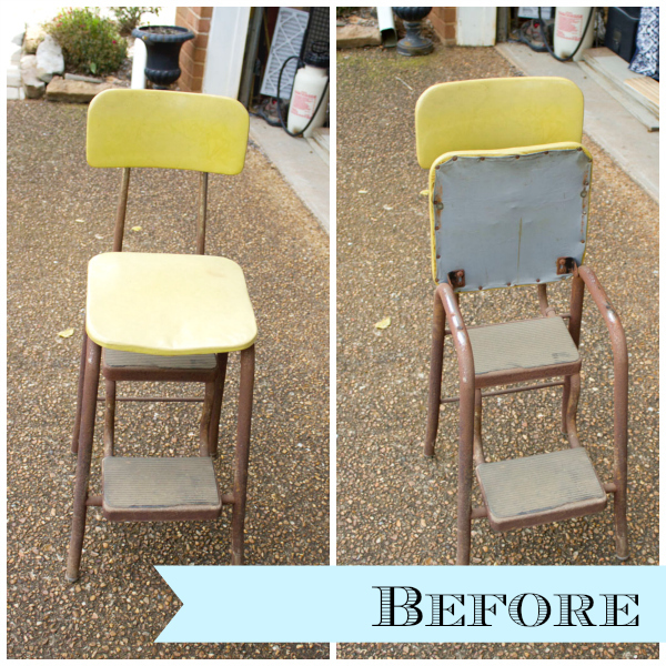 Ordinaire Curbside Step Stool Makeover