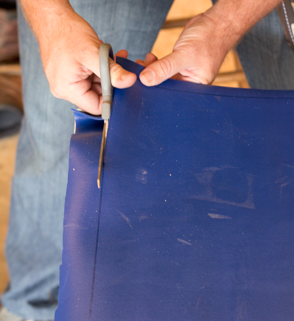 Cutting Liner for DIY Washer Toss