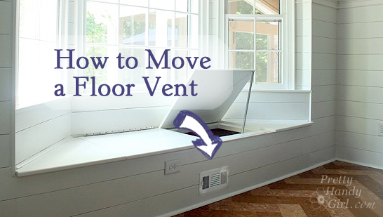 How to Move a Floor Register