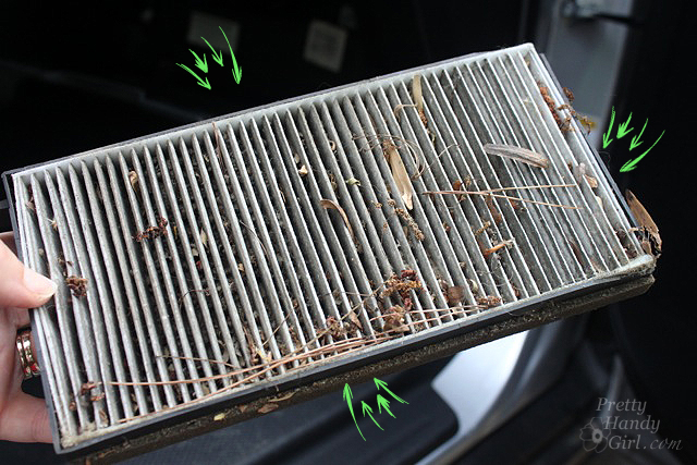 Attractive Very Dirty_cabin_air_filter Save. That Would Be A Filthy Cabin Air Filter!