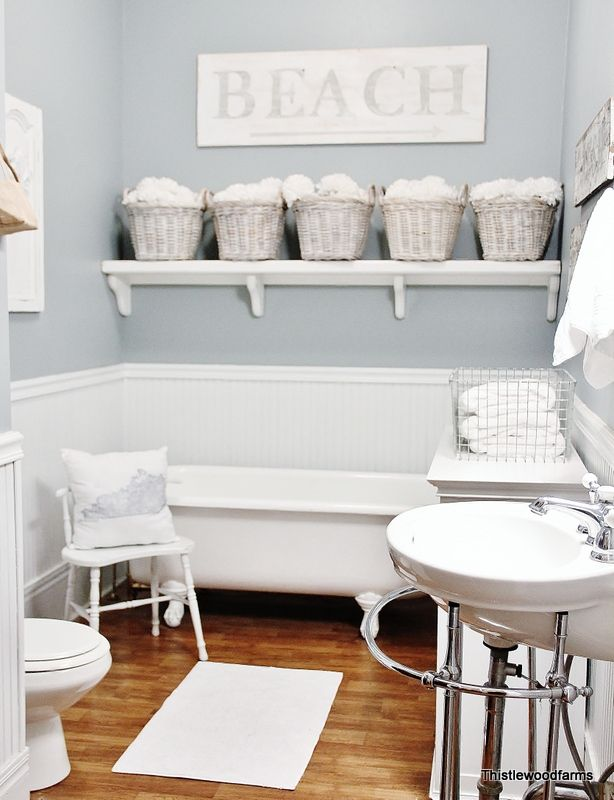 Grayish Blue Paint 25 dreamy blue paint color choices - pretty handy girl