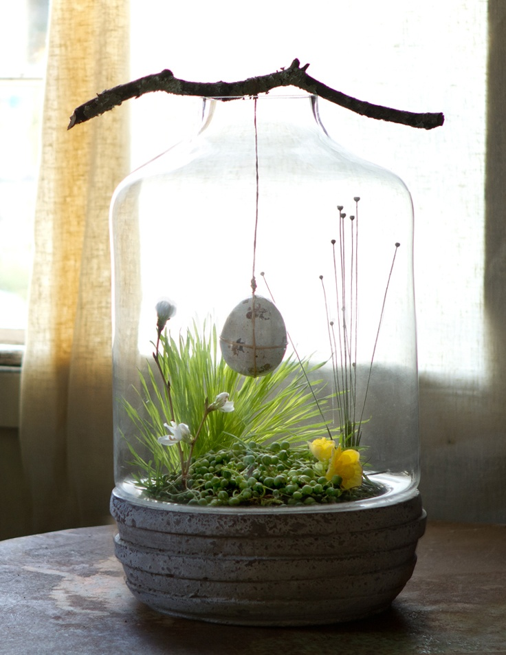 Wonderful Easter Terrarium